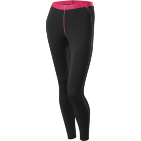 Löffler Transtex Warm Long Underpants Women, black/pink
